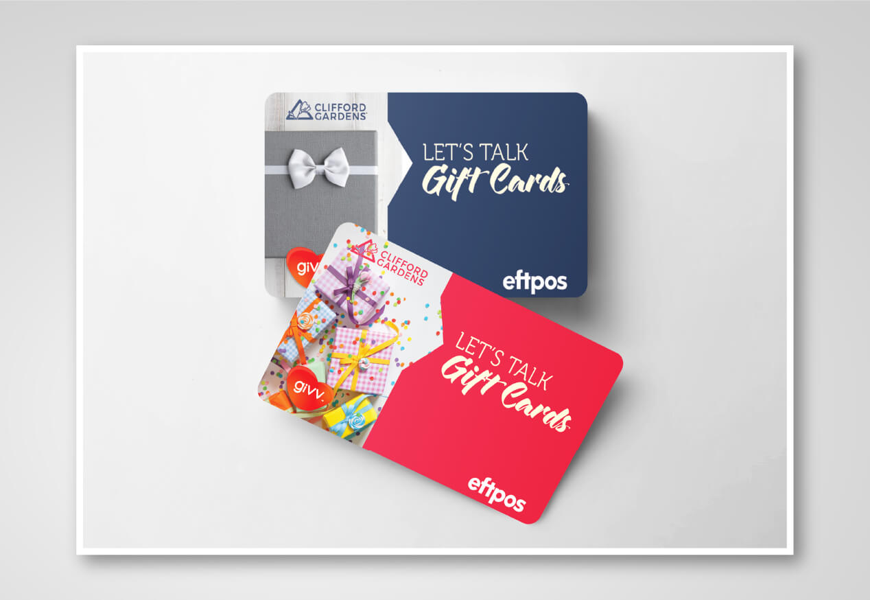Clifford gardens giftcards